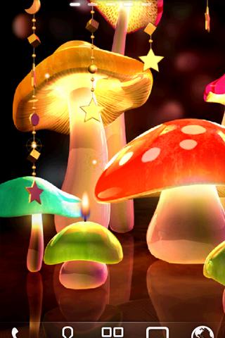 Mushroom Light ライブ壁紙