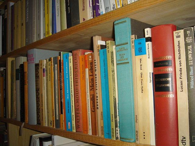 Książki, Biblioteka, Odczyt