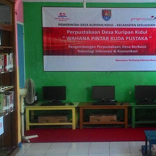 Perpustakaan desa kuripan kidul Cilacap