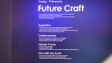 Photo: Future Craft Design Philosophy  http://panasonic.net/design/