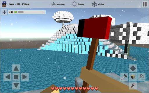 Cubes Craft Winter 1.1 screenshots 4
