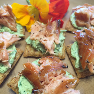 Chive Cream Cheese and Smoke Salmon