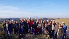 Participantes en la ruta de Lucainena (Foto: José Ángel Fernández)