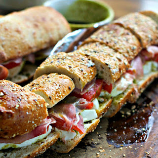 Prosciutto Party Sandwich Recipe