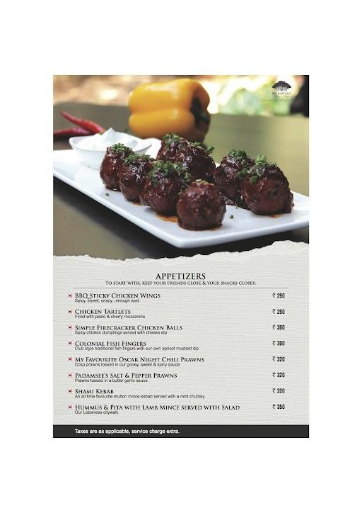 The Fat Chef menu 4