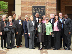 Photo: Los Angeles Delegation in front of the Birmingham Civil Rights Institute