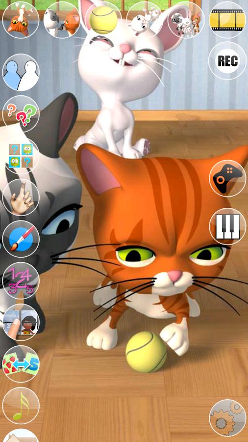 Talking 3 Friends Cats & Bunny- screenshot