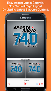 Sports Radio 740- screenshot thumbnail