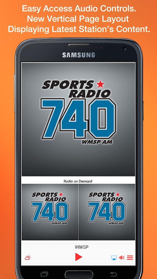 Sports Radio 740- screenshot