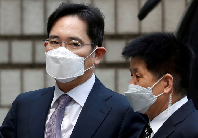 Samsung Group heir Jay Y. Lee arrives for a court hearing to review a detention warrant request against him at the Seoul Central District Court in Seoul, South Korea, on June 8 2020. The Lee family's handling of the hefty inheritance tax bill could have resulted in the dilution of its controlling stake in Samsung.