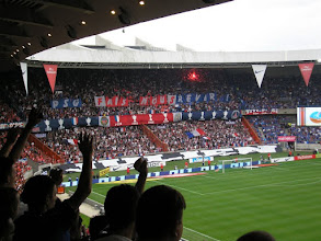 Photo: Tifo van PSG !