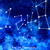 Starry*Clock Live Wallpaper