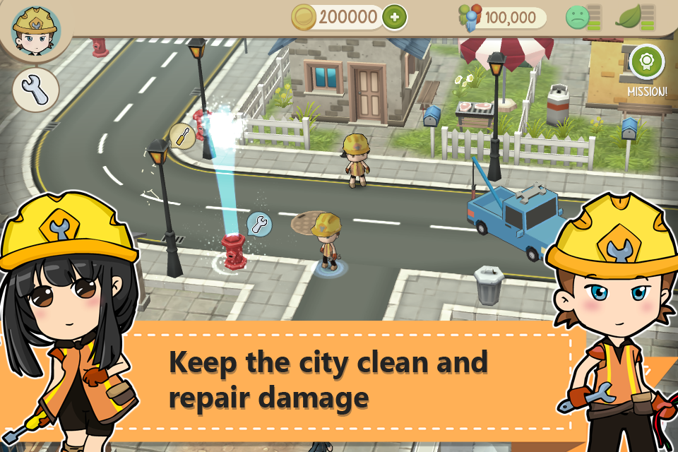 Chibi Town- screenshot