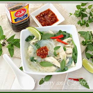 Quick Pho Ga (Vietnamese Chicken Noodle Soup)