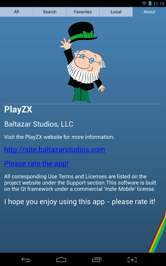 PlayZX- screenshot