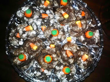 Chocolate Glazed Donut Autumn Cookies Recipe