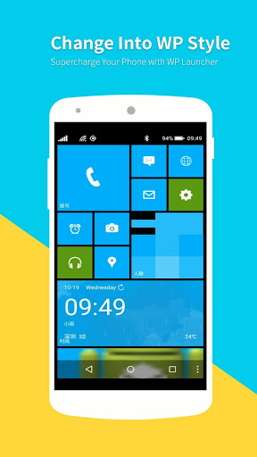 WP Launcher (Windows Phone Style) screenshot 2
