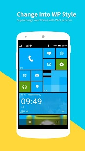 WP Launcher (Windows Phone Style) Screenshot