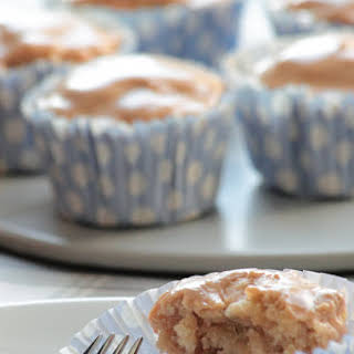 Healthy (-ish) Apple Sauce Cupcakes.