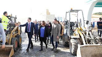 El presidente, el jueves en Mallorca.