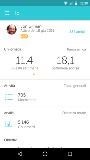 RunKeeper - GPS Correre- screenshot
