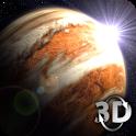 Venus in HD Gyro 3D Free icon
