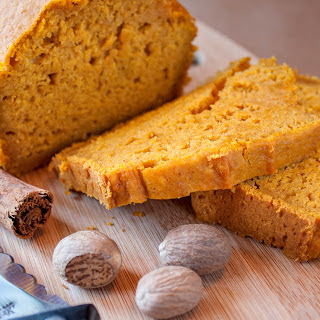 No Sugar Pumpkin Spice Bread