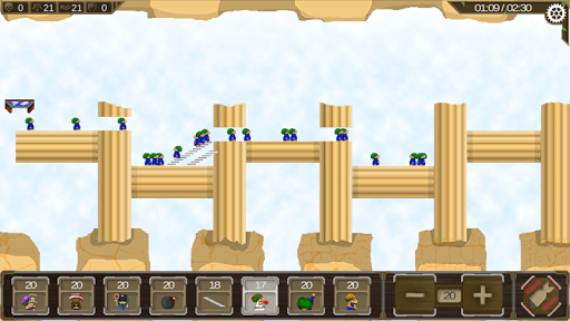 Revisited Lemming 1.2.4 screenshots 2