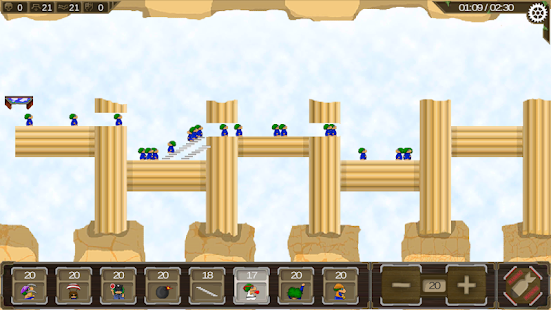 Revisited Lemming Screenshot