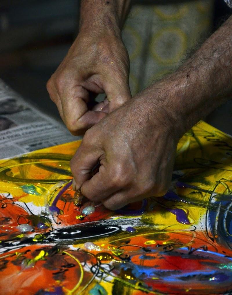 mani d'artista di Primula Vico
