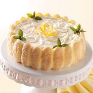 Lemon Ladyfinger Dessert.