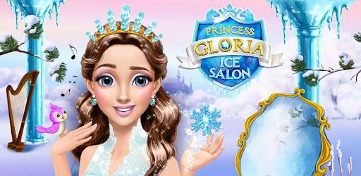 Princess Gloria Ice Salon Frozen Beauty Story Apps On Google Play