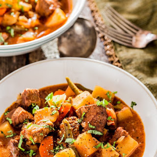 Crockpot Beef Stew.