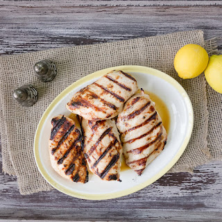 Lemon-Grilled Chicken Breasts.