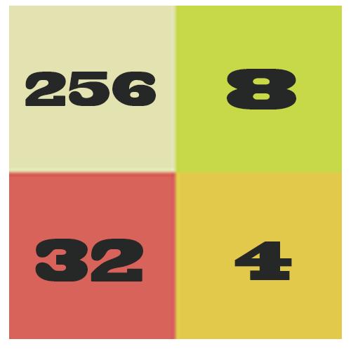 パズル2048