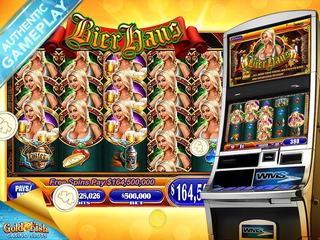 Screenshots of Gold Fish Free Slots Casino for iPhone