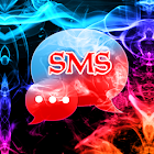 Color Smoke Theme GO SMS Pro icon