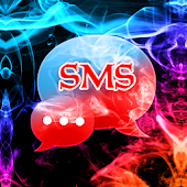 Color Smoke Theme GO SMS Pro