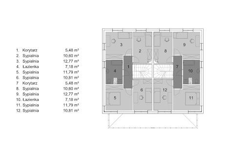 Eco 22 - Rzut piętra