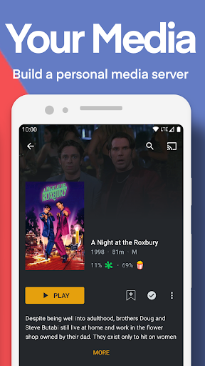 Plex: Stream Free Movies, Shows, Live TV & more modavailable screenshots 4