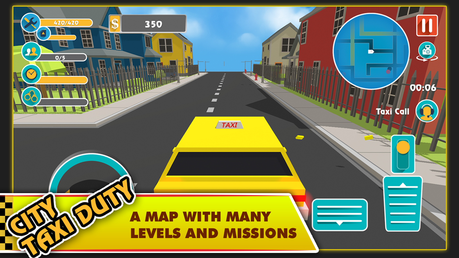 City Taxi Duty- screenshot
