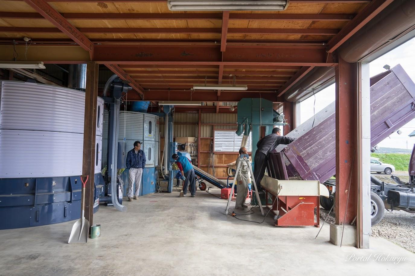 美葉牛の乾燥施設