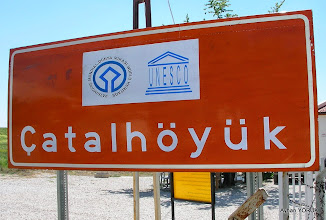 Photo: Çatalhöyük Çumra/Konya - 24.04.2013