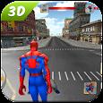 Spider SuperHero VS Incredible Monster City Battle