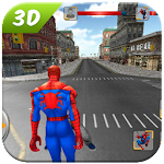 Spider SuperHero VS Incredible Monster City Battle Icon