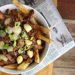 Slow Cooker Beef Poutine