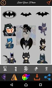 Bat photo editor emoji & stickers - náhled