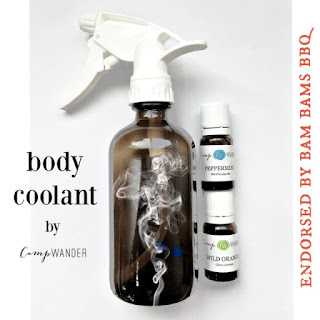 Hot Summer Icy Coolant Spray