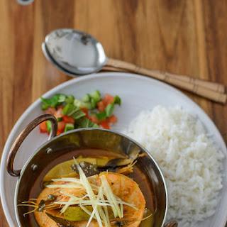Prawn Curry with Green Mango