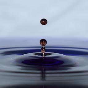 Waterdrop by Tahir Sultan - Abstract Water Drops & Splashes ( #water, #nikon, #waterdrop )